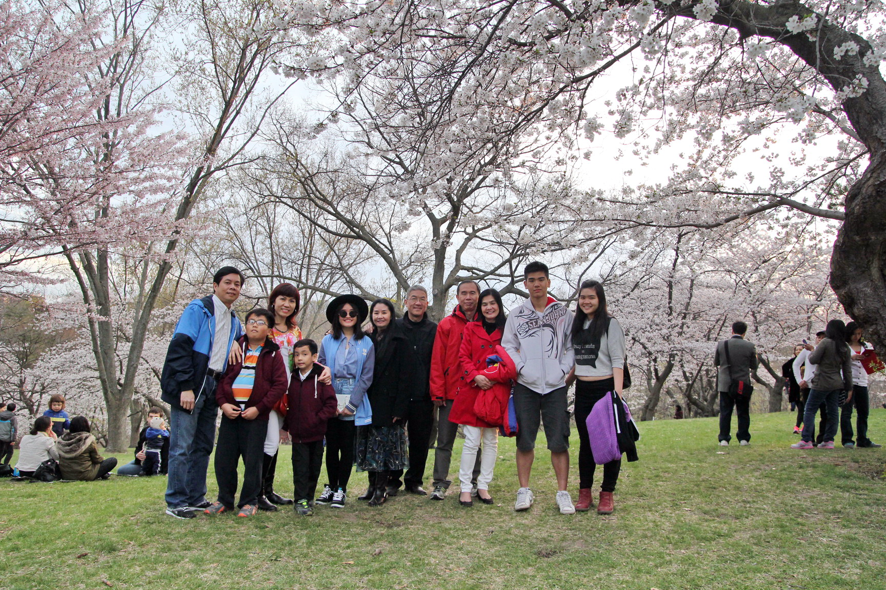Newcomers Trip to High Park