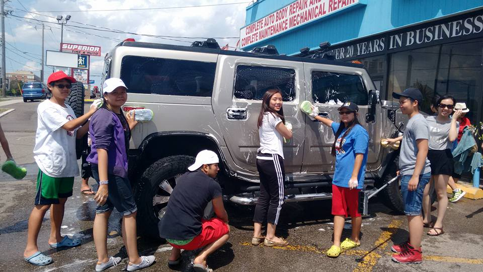 Youth Group Fundraising Car Wash