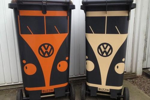 VW Camper Wheelie Bin Stickers