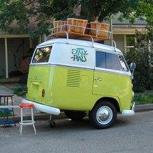 Micro VW Bus Caravan