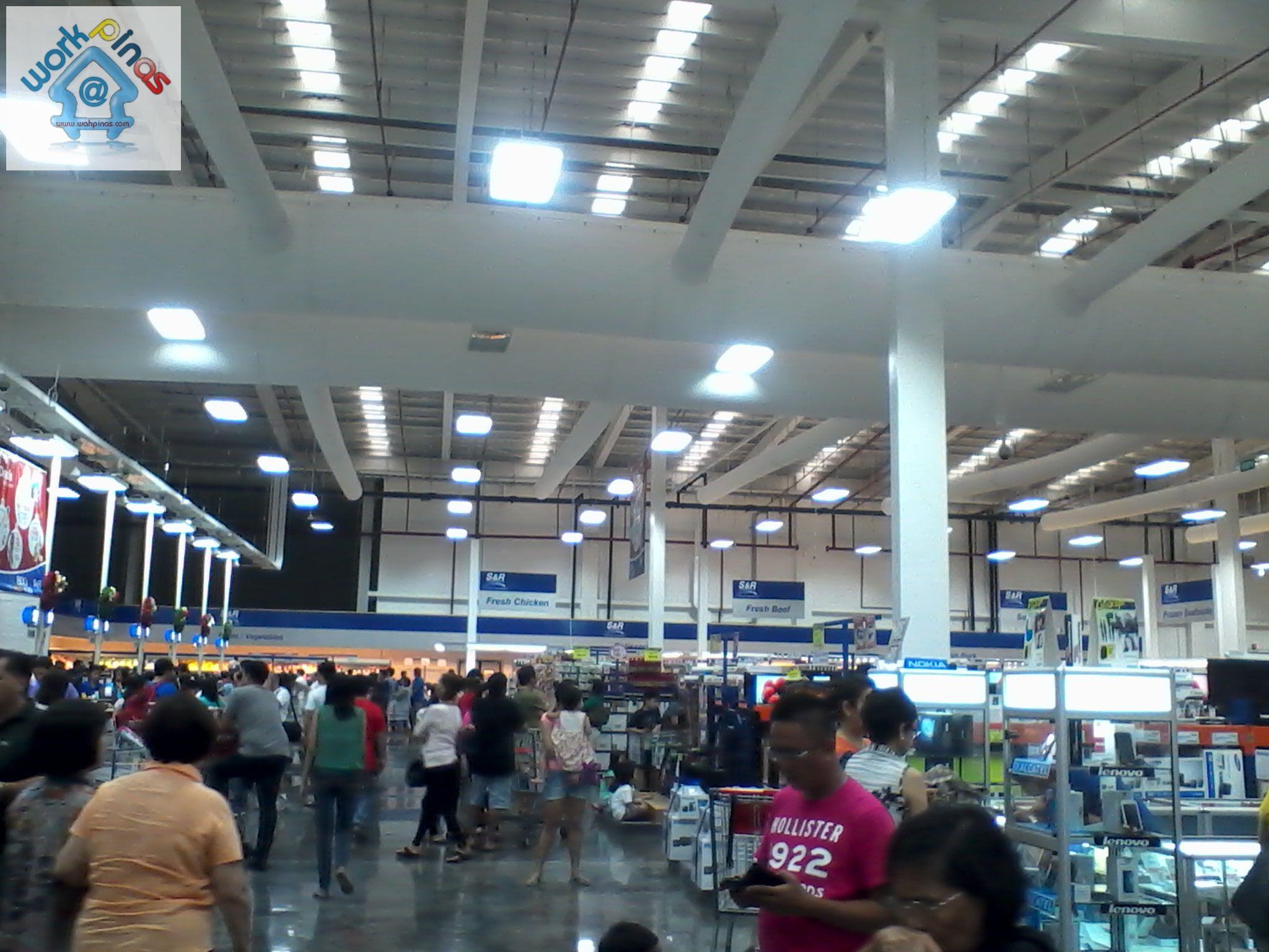 Snr Membership Shopping In Shaw Blvd  Mandaluyong City