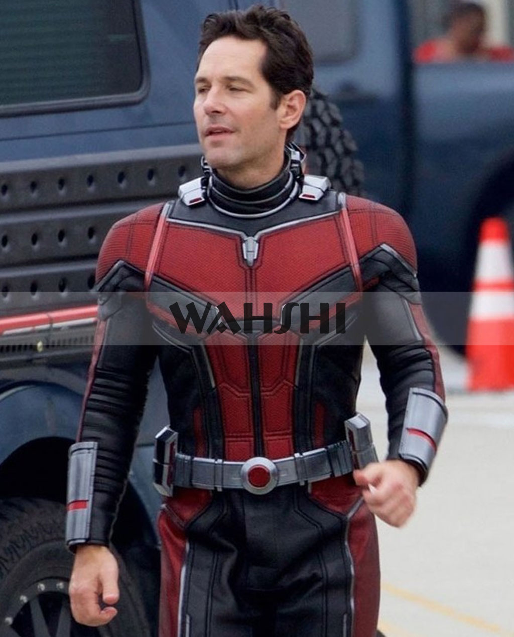 Ant Man 2 2018 Paul Rudd Scott Lang Leather Jacket Costume ant man 2 jacket