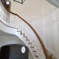 Full Wall Raised Panel Stairwell (1024x768)
