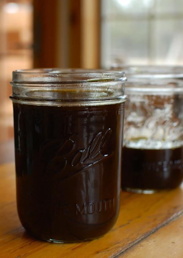 mason jar cannabis oil