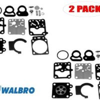 Walbro K10-WZ Carb Repair Kit for Shindaiwa Brush Cutter R20L (2 Pack)
