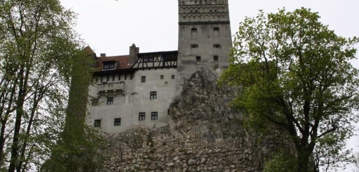 Exploring the grounds at Castle Bran, Bran Romania 2015