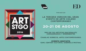 Art Stgo - 20 y 21 de agosto 2016 - centro GAM