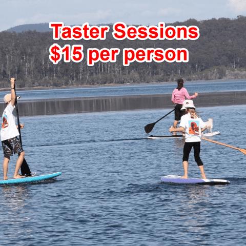 taster sessions 15 dollars