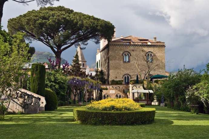 Ravello's Villa Cimbrone, a top sight on the Amalfi coast
