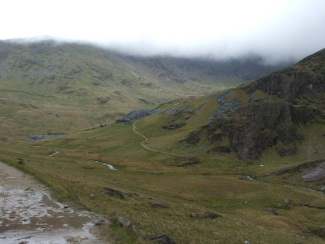Watkin Path up Snowdon