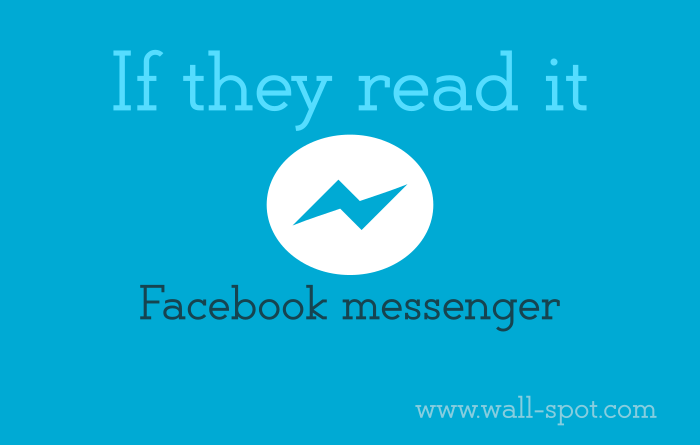 How do I know if someone has seen a message I sent in Facebook Messenger