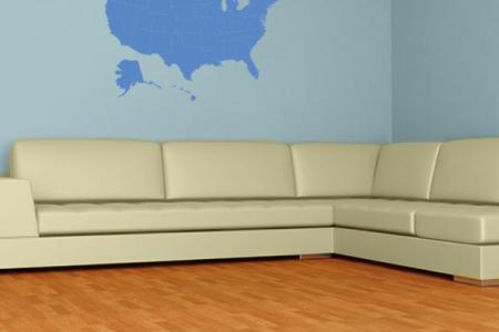 united states map wall decal | wall decal world