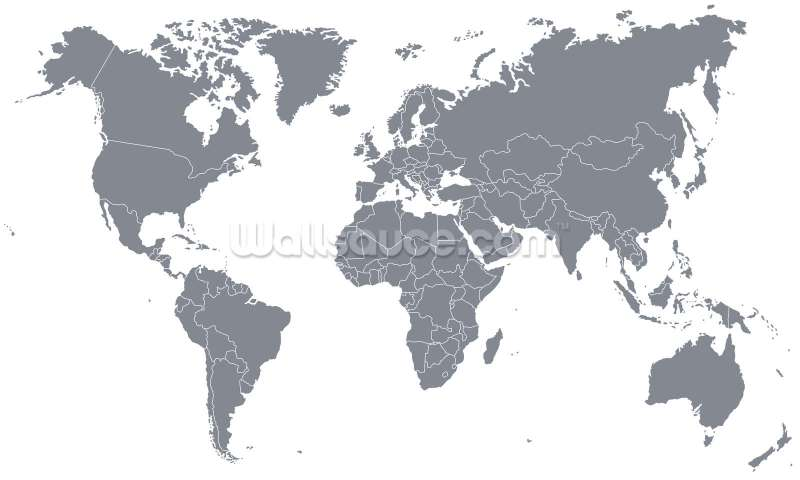 Large Of World Map Wallpaper