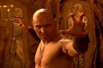 Imhotep, the resurrected deity of all those who like holding their hands in funny poses