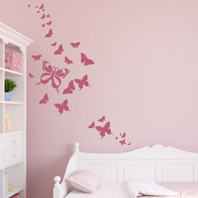 Large Of Butterfly Wall Decals