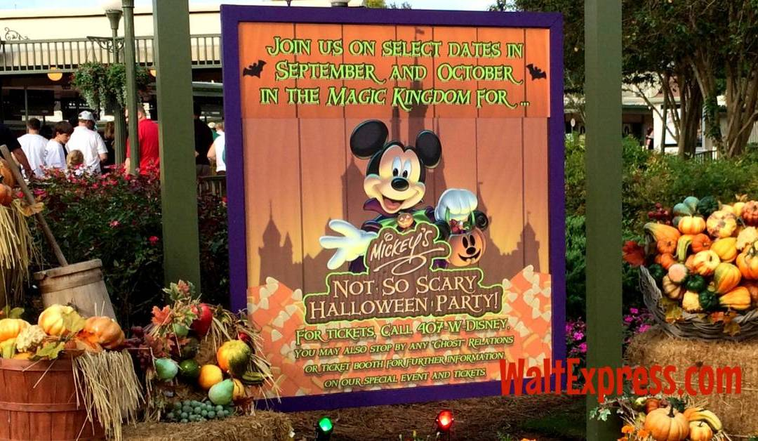 Mickey's Not-So-Scary Halloween Party 2016 Merchandise