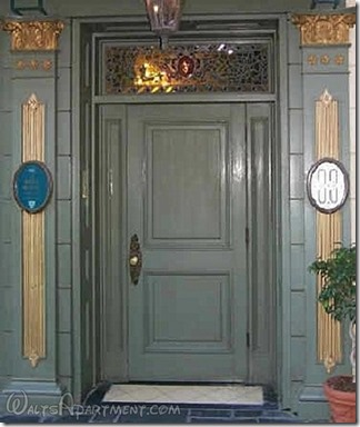 Club 33 entry door today - WaltsApartment.com