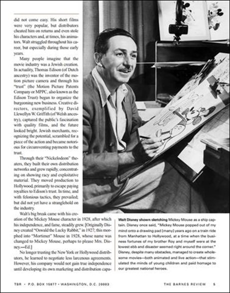 Walt Disney and the American Dream - WaltsApartment.com