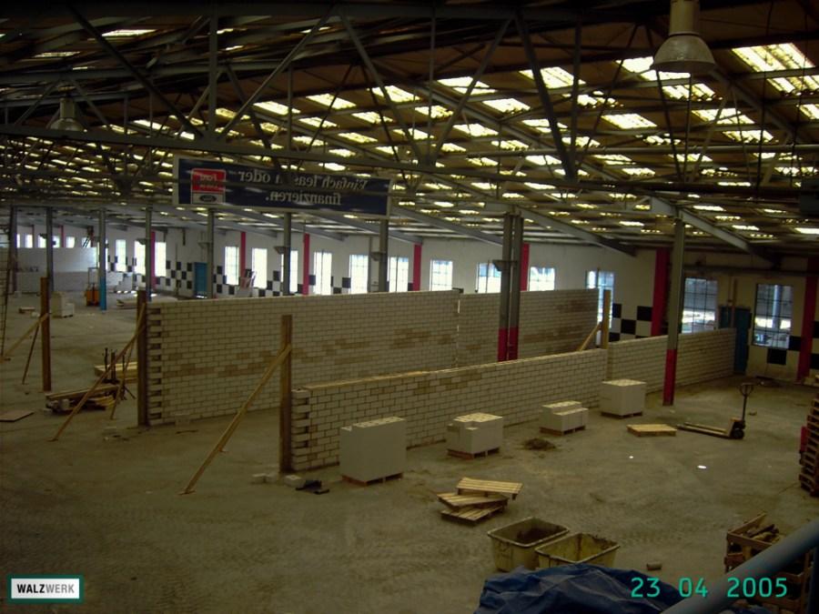 Walzwerk - Der Umbau 2005 - 05