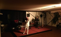 "Ron White im WALZWERK-Atelier ""Dancin´around the christmas tree"""