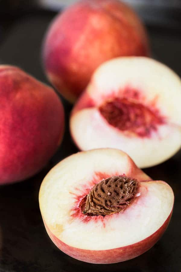 Cinnamon Grilled Peaches with Sour Cream - The perfect breakfast wake ...