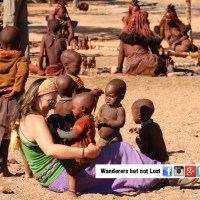 Visiting an Himba tribe in Namibia