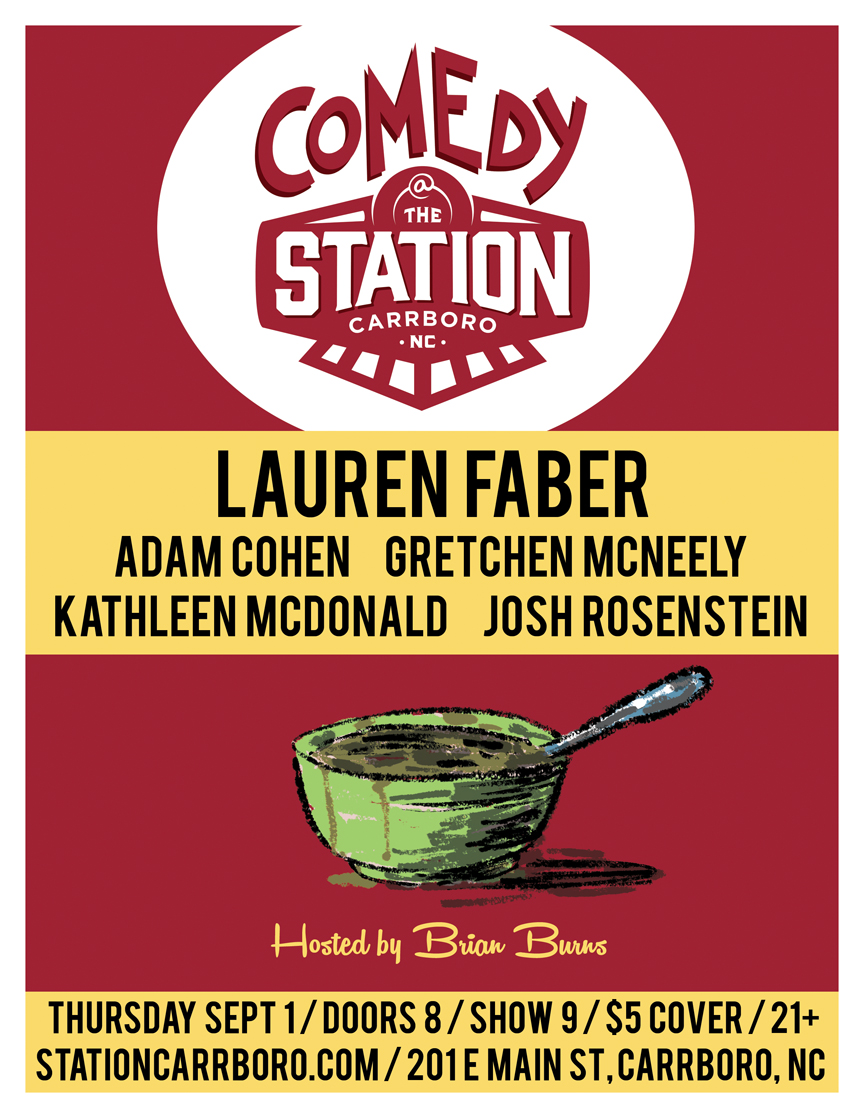 COMEDY AT THE STATION SEP 2016 ONLINE