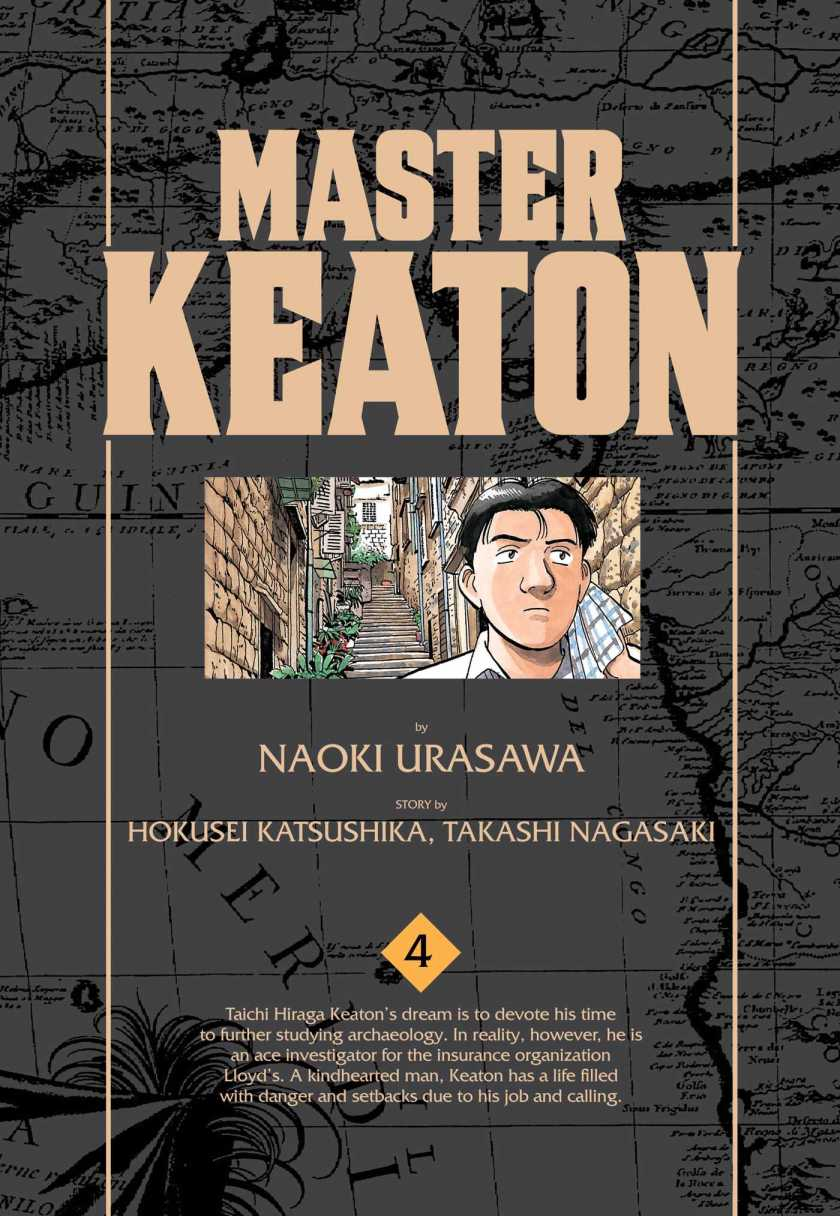 Master Keaton volume 4 cover