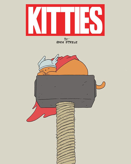 Kitties Cover by Greg Steele