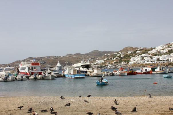 Harbour on Mykonos town