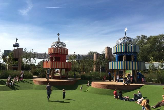 Magic Garden, Hampton Court