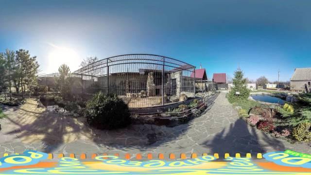Сферическое видео зоопарк Пылышенко в васильевке poedu.com.ua 360-video