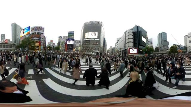 20150416 Shibuya Crossing