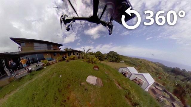 Maui 360 Video DJI Inspire 1 Drone Aerial Shot Test Flight