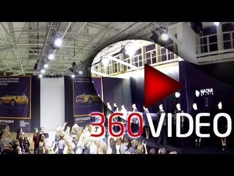 Minks Fashion Week 2014 in 360 degrees video