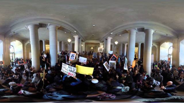 Protest Against Police Brutality, SF City Hall 04-14-2015
