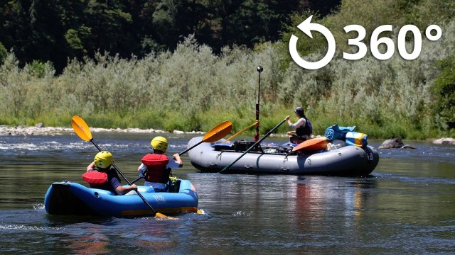 Rogue River Rafting 4K 360 Video