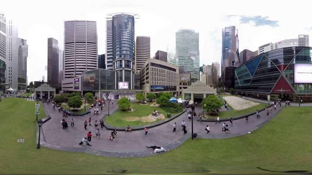 Singapore 360 Video – Raffles Place