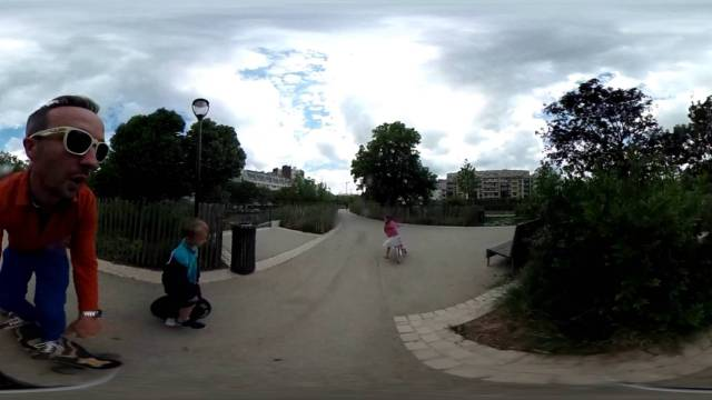 Spring Parisup Session 360 Solowheel