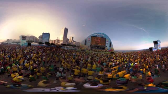 Video 360 graus FIFA FAN FEST Rio de Janeiro 2014