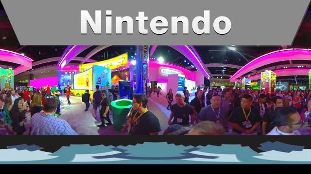 Nintendo @ E3 2015 Booth Tour – 360 degrees