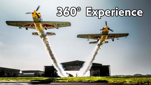 Red Bull Barnstorming 360° POV Experience