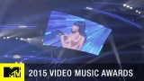 360 VR: Nicki Minaj Confronts Miley Cyrus on Stage   MTV VMA 2015