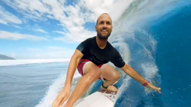 Get Barreled in Tahiti with Samsung Gear VR, C.J. Hobgood