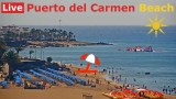 lanzarotewebcam.com 🔴 LIVE HD Streaming from Puerto del Carmen Beach, Canary Islands, Spain