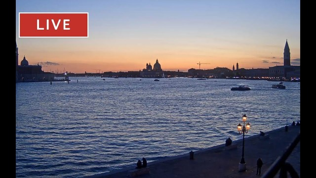 Venice Live Cam – San Marco Basin in Live Streaming