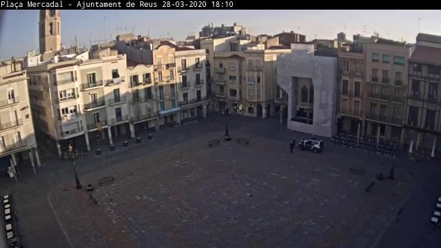 Webcam Plaça Mercadal – Ajuntament de Reus