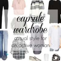 Capsule Wardrobe: Active Casual for a Busy Mom