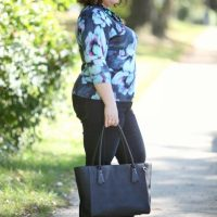What I Wore: Shades of Blue