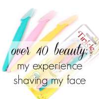 Over 40 Beauty: Shaving Face
